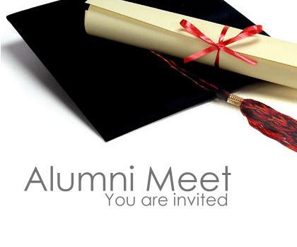 Alumni Meet is held on 25 January 2017